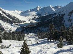 Kühtai Speichersee - Winterwanderweg